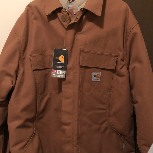 a256a4d7e953 Carhartt Fire Resistant Coat